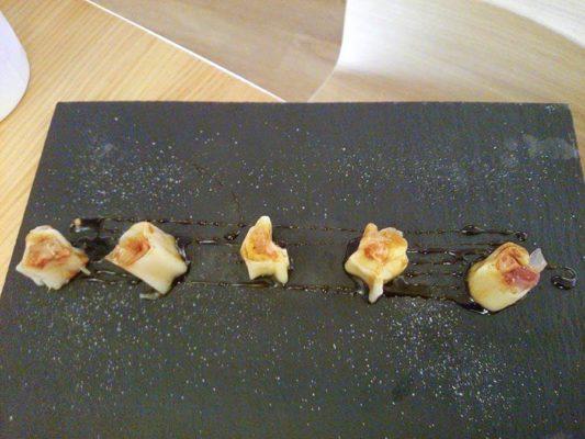 Restaurante Telamarinera, puerros de Sahagún