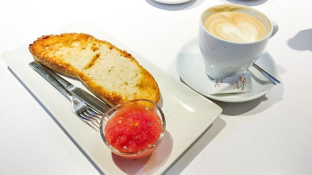 desayuno en León cafetería sonriete & café